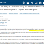 ITA-美国国际贸易管理署市场开发合作项目合作伙伴